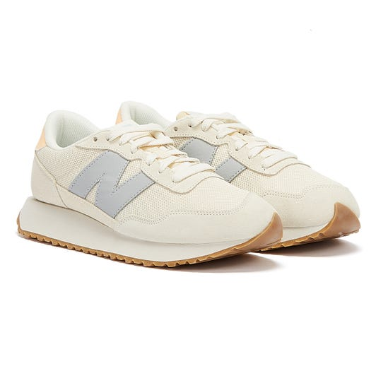 New Balance 237 Womens Beige / Lilac Trainers