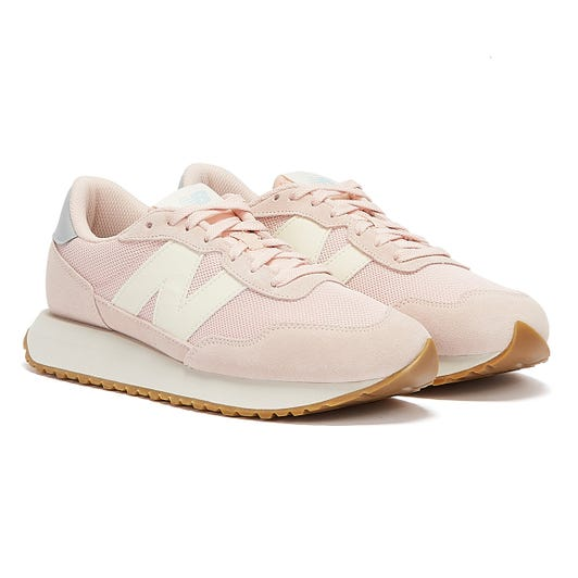 New Balance 237 Womens Pink / Grey Trainers