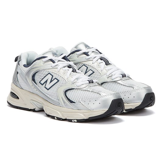 New Balance 530 Mens Silver / White Trainers