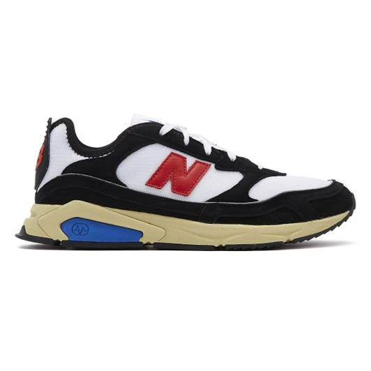 New Balance X-Racer Mens Black / Red Trainers