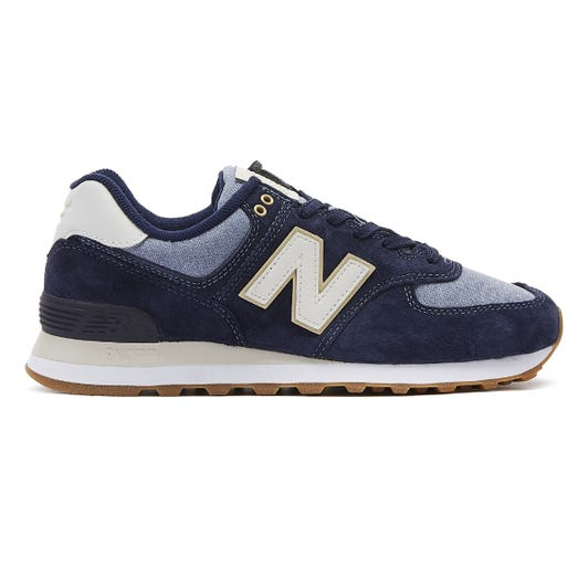 New Balance 574 Mens Pigment Navy Trainers