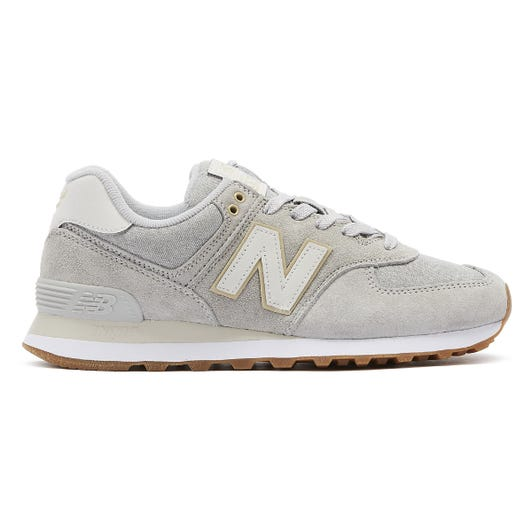 New Balance 574 Mens Rain Cloud Grey Trainers
