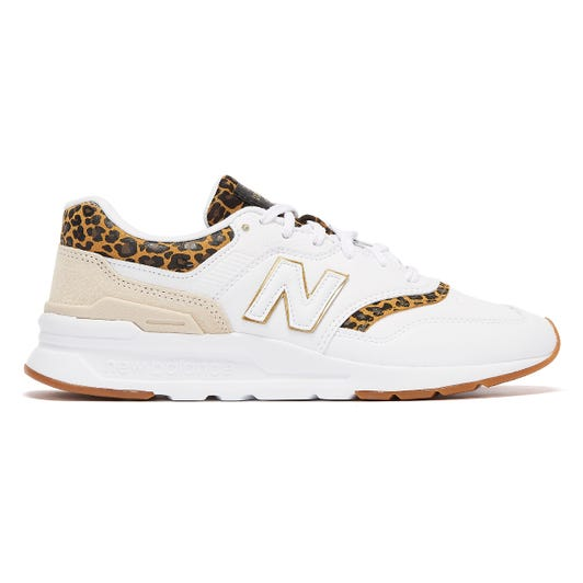 New Balance 997H Leopard Womens White Trainers