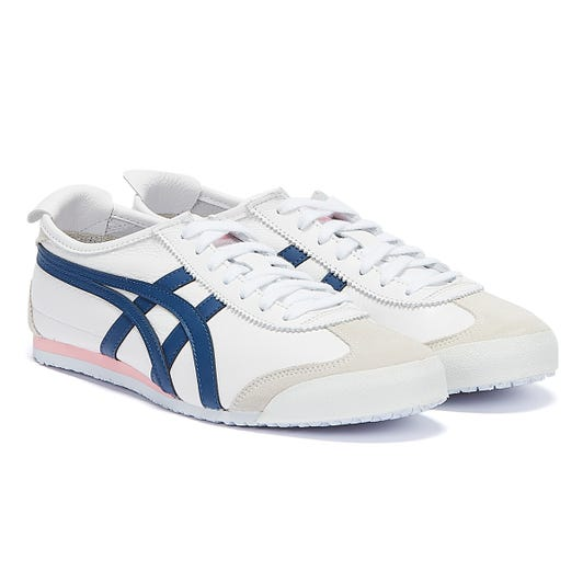 Onitsuka Tiger Mexico 66 Womens White / Blue Trainers