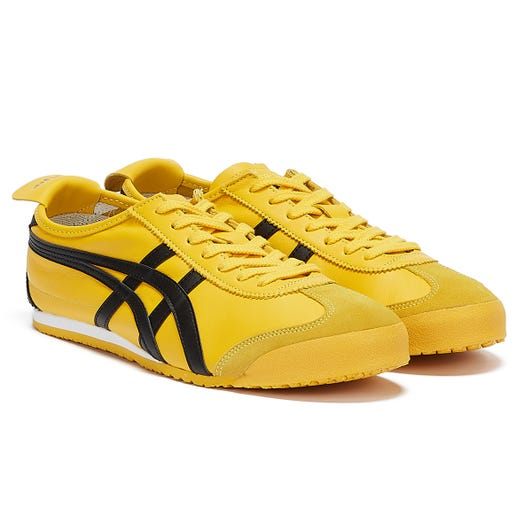Onitsuka Tiger Mexico 66 Mens Yellow / Black Trainers