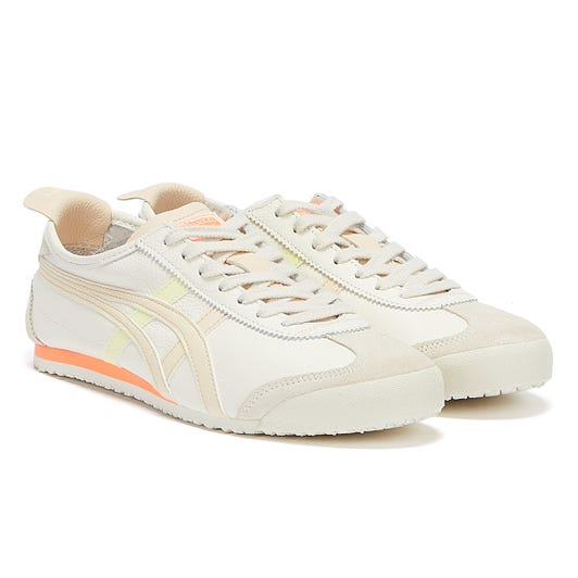 Onitsuka Tiger Mexico 66 Womens Cream / Pink Trainers