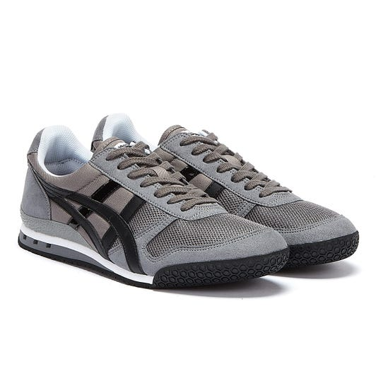 Onitsuka Tiger Ultimate 81 Mens Silver / Black Trainers