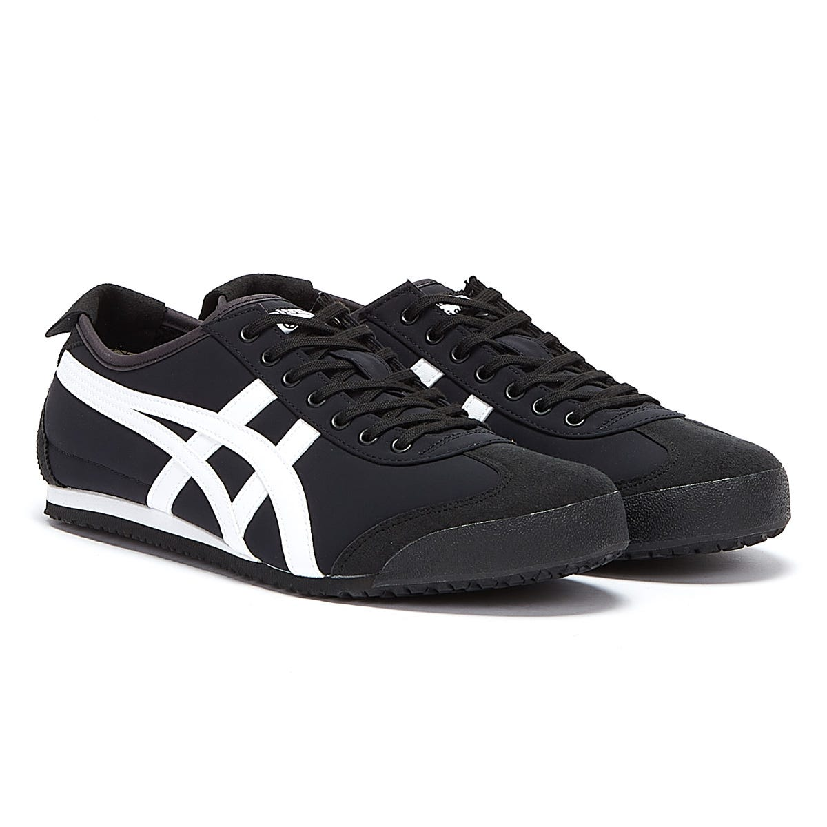 Trainers & Running Shoes Onitsuka Tiger Mexico 66 Mens Black / White Trainers