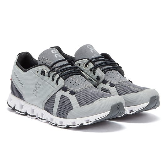 On Running The Cloud Mens Grey / White Trainers
