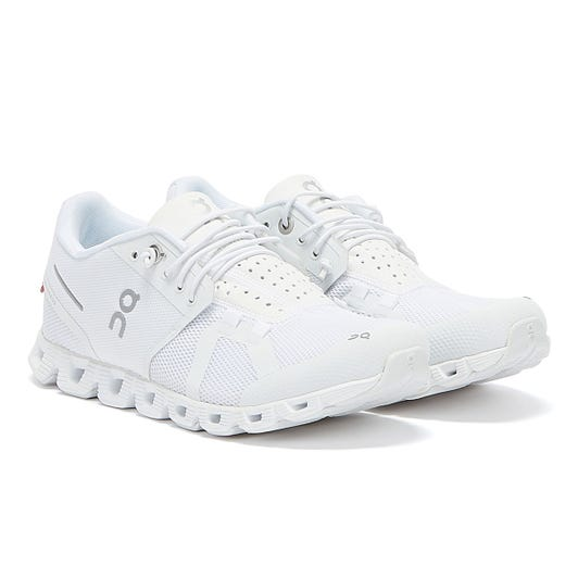 On Running The Cloud Womens All White Trainers