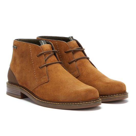 Barbour Readhead Suede Mens Brown Boots