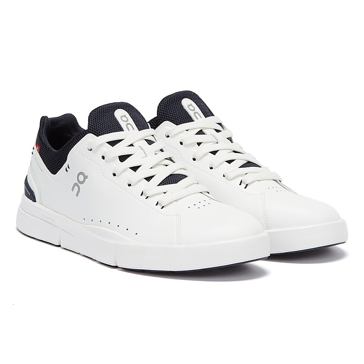 Trainers & Running Shoes On Running The Roger Advantage Mens White / Midnight Trainers