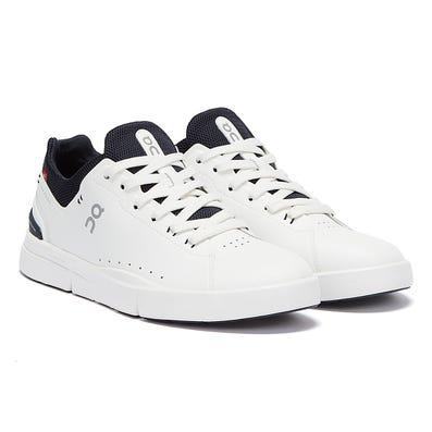 On Running The Roger Advantage Mens White / Midnight Trainers