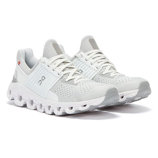 On Running Cloudswift Womens Glacier / White Trainers