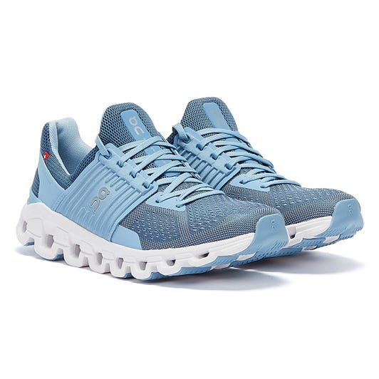 On Running Cloudswift Womens Lake / Sky Trainers