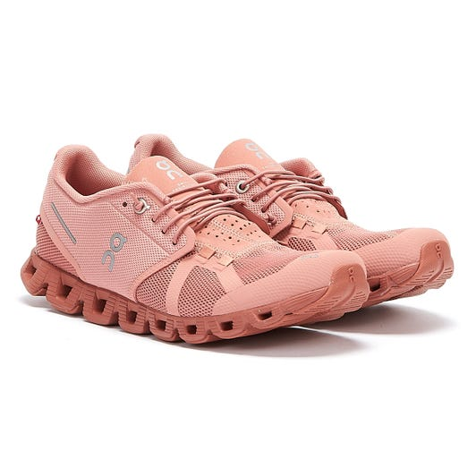 On Running Cloud Monochrome Womens Rose Trainers