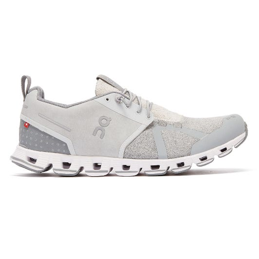On Running Cloud Terry Mens Silver Trainers