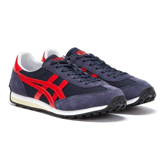 Onitsuka Tiger EDR 78 Mens Midnight / Classic Red Trainers