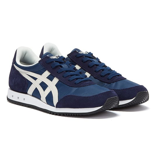 Onitsuka Tiger New York Mens Navy / White Trainers