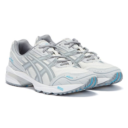 Asics Gel 1090 Mens White / Grey Trainers