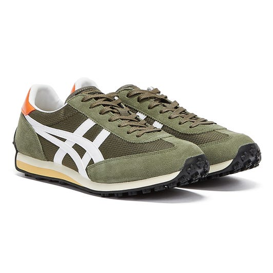 Onitsuka Tiger EDR 78 Mens Mantle Green / White Trainers
