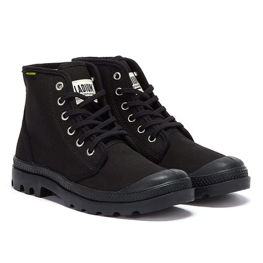 Palladium Black Pampa Originale Hi Boots