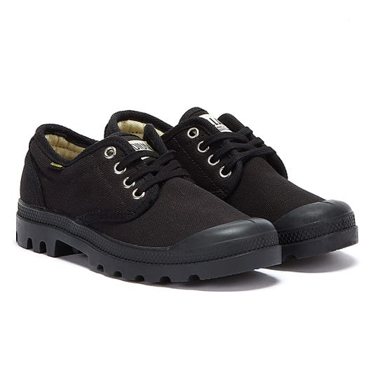 Palladium Black Pampa Originale Ox Shoes