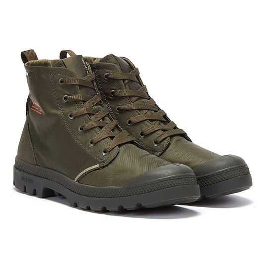 Palladium Pampa Lite+ Rcycl WP+ Mens Olive Night Boots