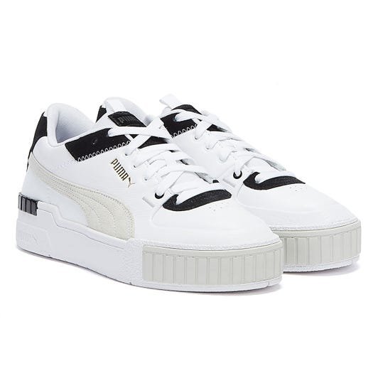 PUMA Cali Sport Mix Womens White / Black Trainers