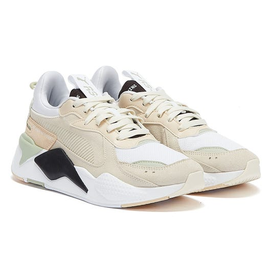 PUMA RS-X Reinvent Womens White / Grey / Beige Trainers