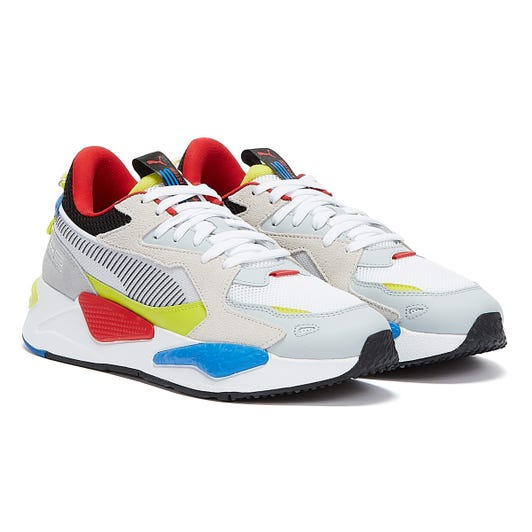 Puma RS-Z Mens White / Blue / Yellow Trainers