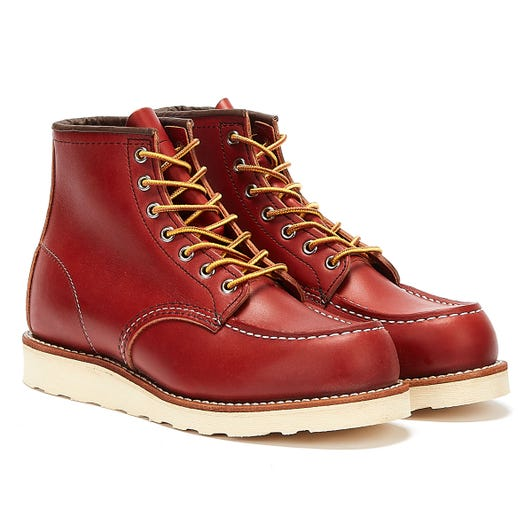 Red Wing Shoes Mens Oro Russet Portage 6-Inch Moc Toe Boots