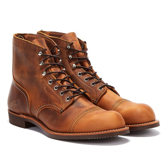 Red Wing Shoes Iron Ranger Copper Mens Boots