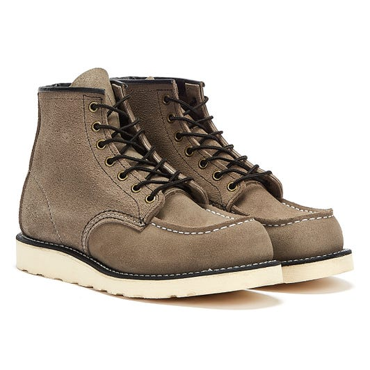 Red Wing Shoes Classic Moc Toe Mens Slate Brown Boots