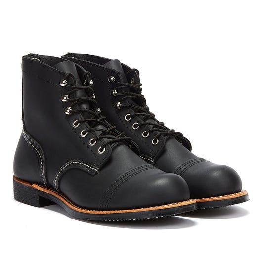 Red Wing Shoes Iron Ranger Harness Mens Black Boots