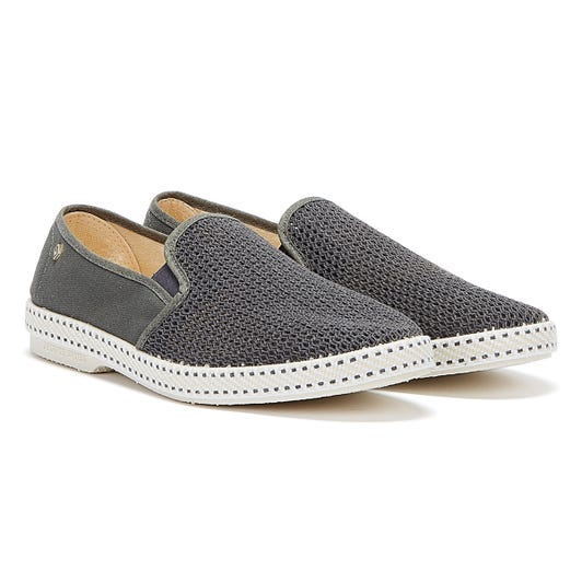Rivieras Classic 20 Mens Dark Grey Shoes