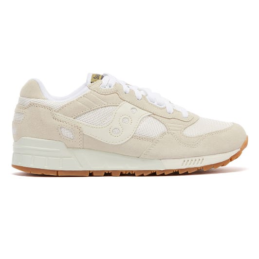 Saucony Shadow 5000 Vintage Mens Tan / White Trainers