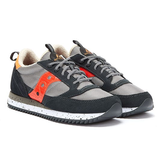 Saucony Jazz Original Peak Mens Grey / Orange Trainers
