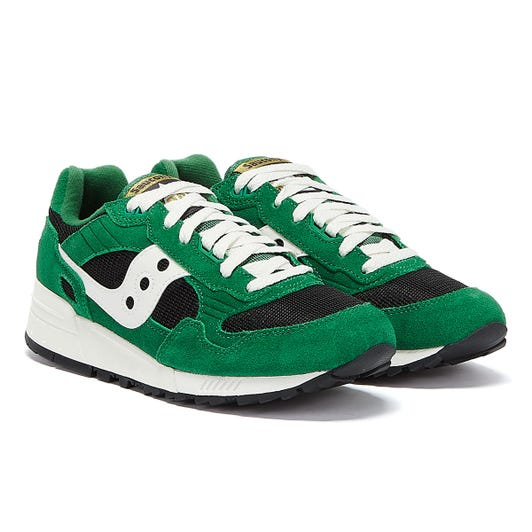 Saucony Shadow 5000 Vintage Mens Green / Black Trainers