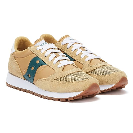 Saucony Jazz Vintage Mens Curry / Mallard Trainers