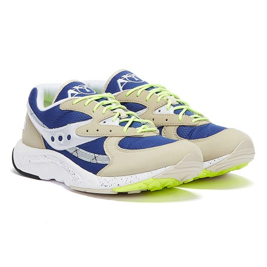 Saucony Aya Mens Grey / Blue Trainers