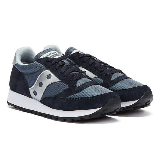 Saucony Jazz 81 Mens Navy / Silver Trainers