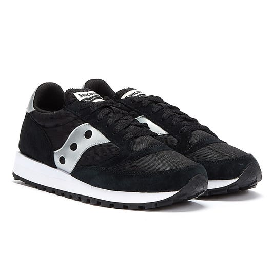 Saucony Jazz 81 Mens Black / Silver Trainers