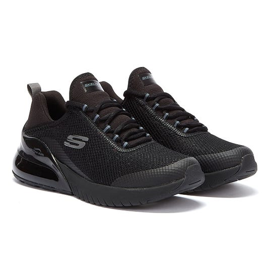 Skechers Skech-Air Stratus Sparkling Wind Womens Black Trainers
