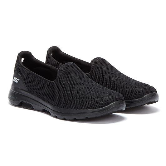 Skechers Go Walk 5 Womens Black Trainers