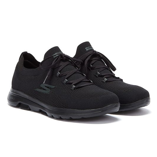 Skechers Go Walk 5 Uprise Womens Black Trainers