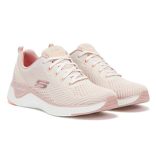 Skechers Solar Fuse Cosmic View Womens Light Pink Trainers