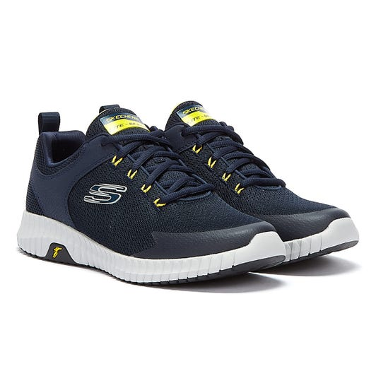 Skechers Elite Flex Mens Navy Trainers