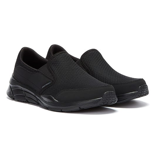 Skechers Equalizer 4.0 Persisting Mens Black Trainers