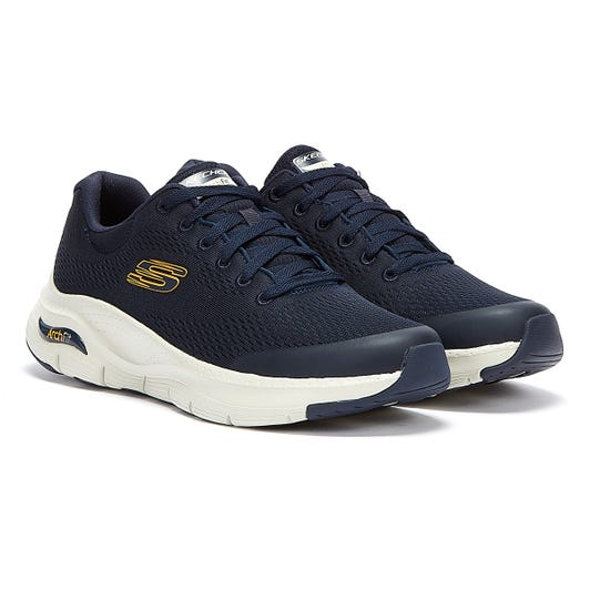 Skechers Arch Fit Mens Navy Trainers